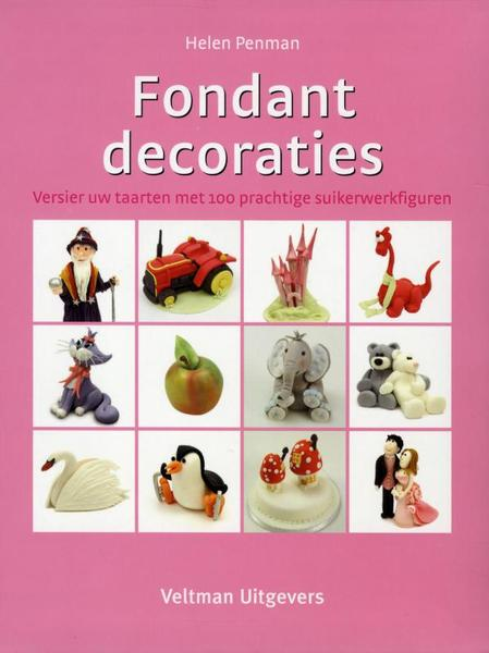 Fondantdecoraties - Helen Penman (ISBN 9789048304486)